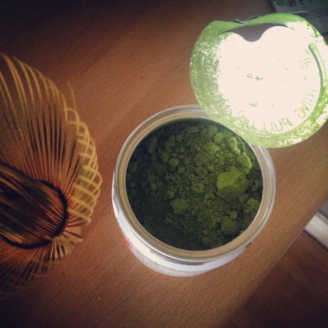 Just opened a new #matcha tea